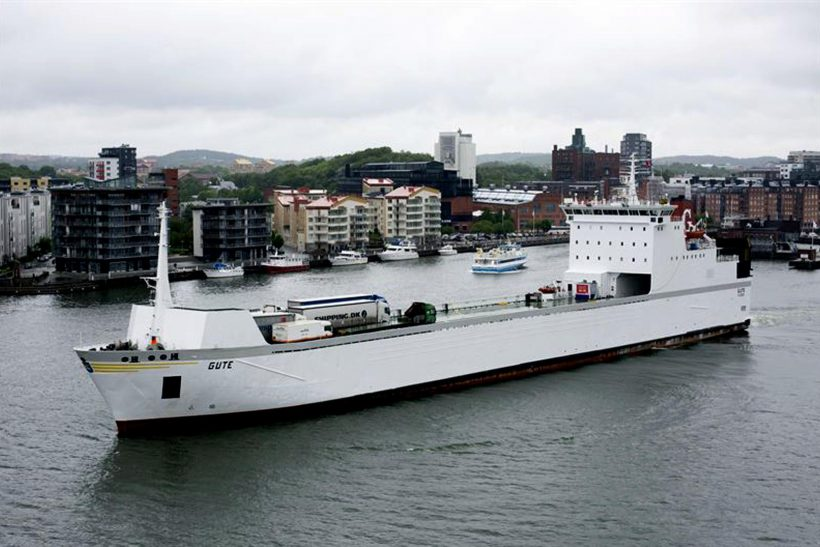 Gute starts on the Gdynia-Karlskrona route