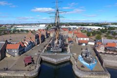 Tees Valley Mayor marks HMS Trincomalee's Bicentenary