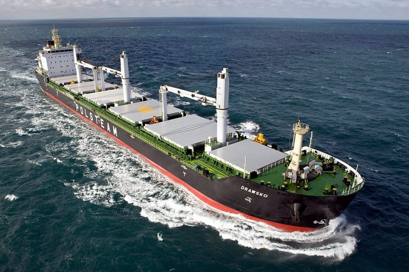 Polsteam operates narrow-beambed bulkers
