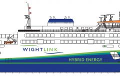Wightlink's new flagship to be named Victoria of Wight