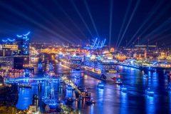 Hamburg Cruise Days 2017: spectacular parade of cruise ships
