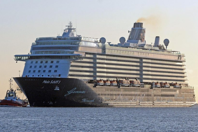 Largest cruise ship ever to visit the Thames | Ships Monthly