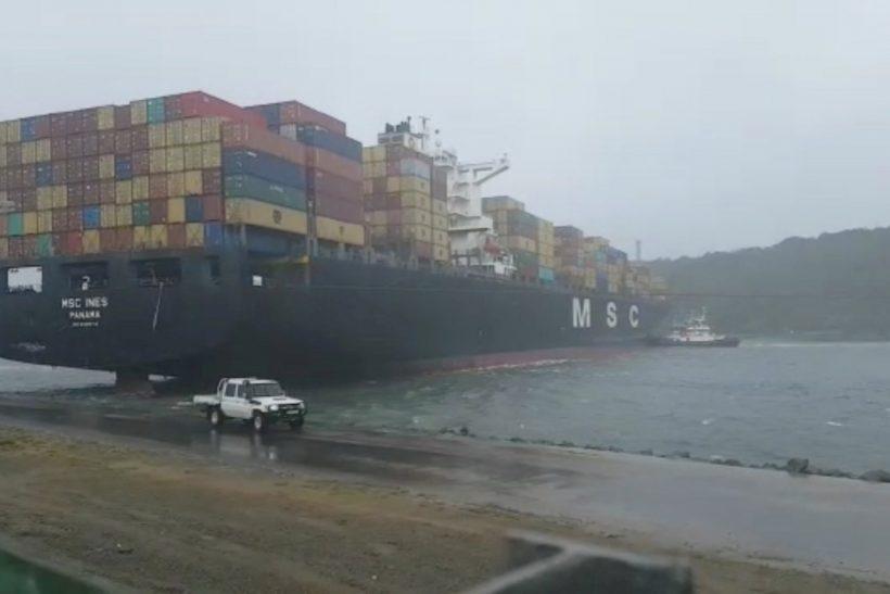 Transnet refloats all three vessels in Port of Durban