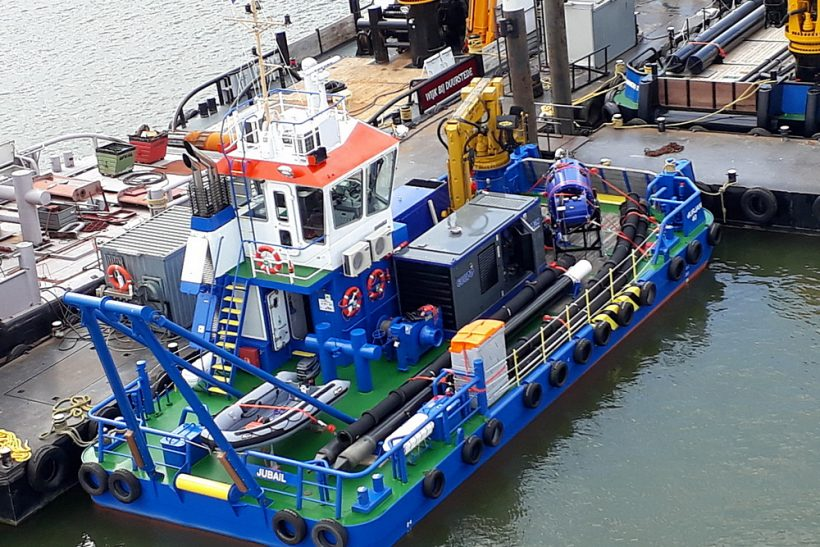 Damen equips Multi Cat for shallow water dredging duties