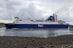 P&O Ferries strong freight volumes on Larne-Cairnryan
