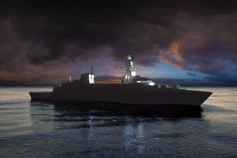 Cammell Laird and BAE Systems in bid to build Type 31e Frigates