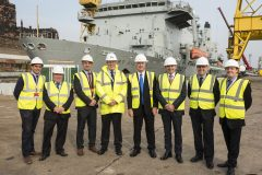 Cammell Laird welcomes shipbuilding boost