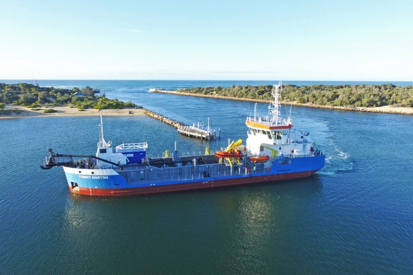 Tommy Norton begins operations in Australia