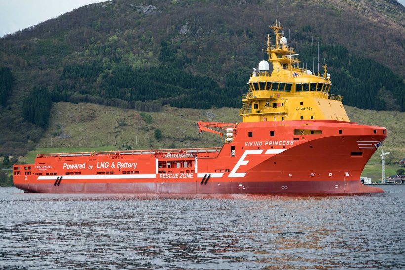 Viking Princess the world's first offshore vessel with a hybrid energy storage solution