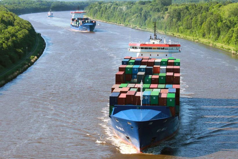 Conversion of Container Ship to Dual-Fuel Operation