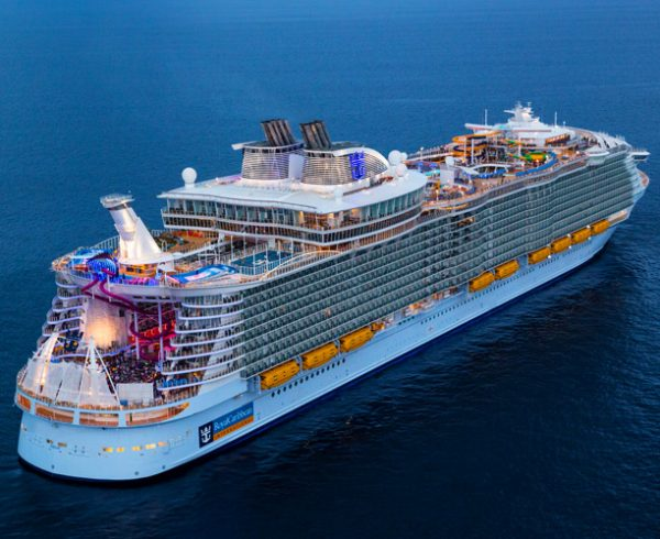 Royal Caribbean gets largest cruise ship Symphony of the Seas ready
