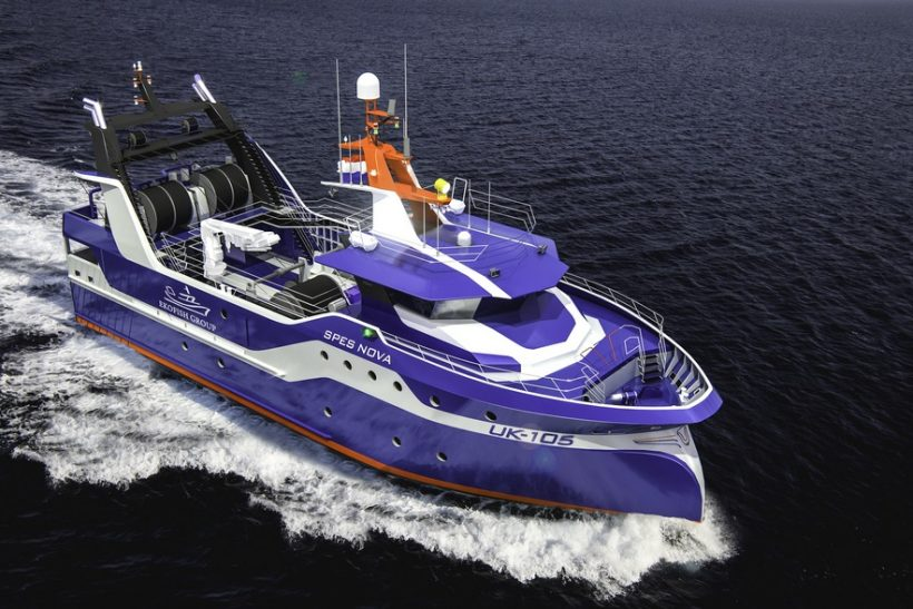 Ekofish builds twin-rigger at Damen Maaskant Shipyards