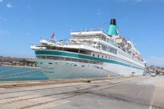 Cruise season underway at South African ports