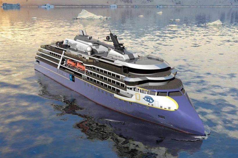 Lindblad order new polar vessel from Ulstein Verft