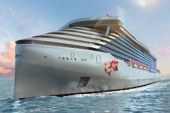 Virgin Voyages lays keel for first ship