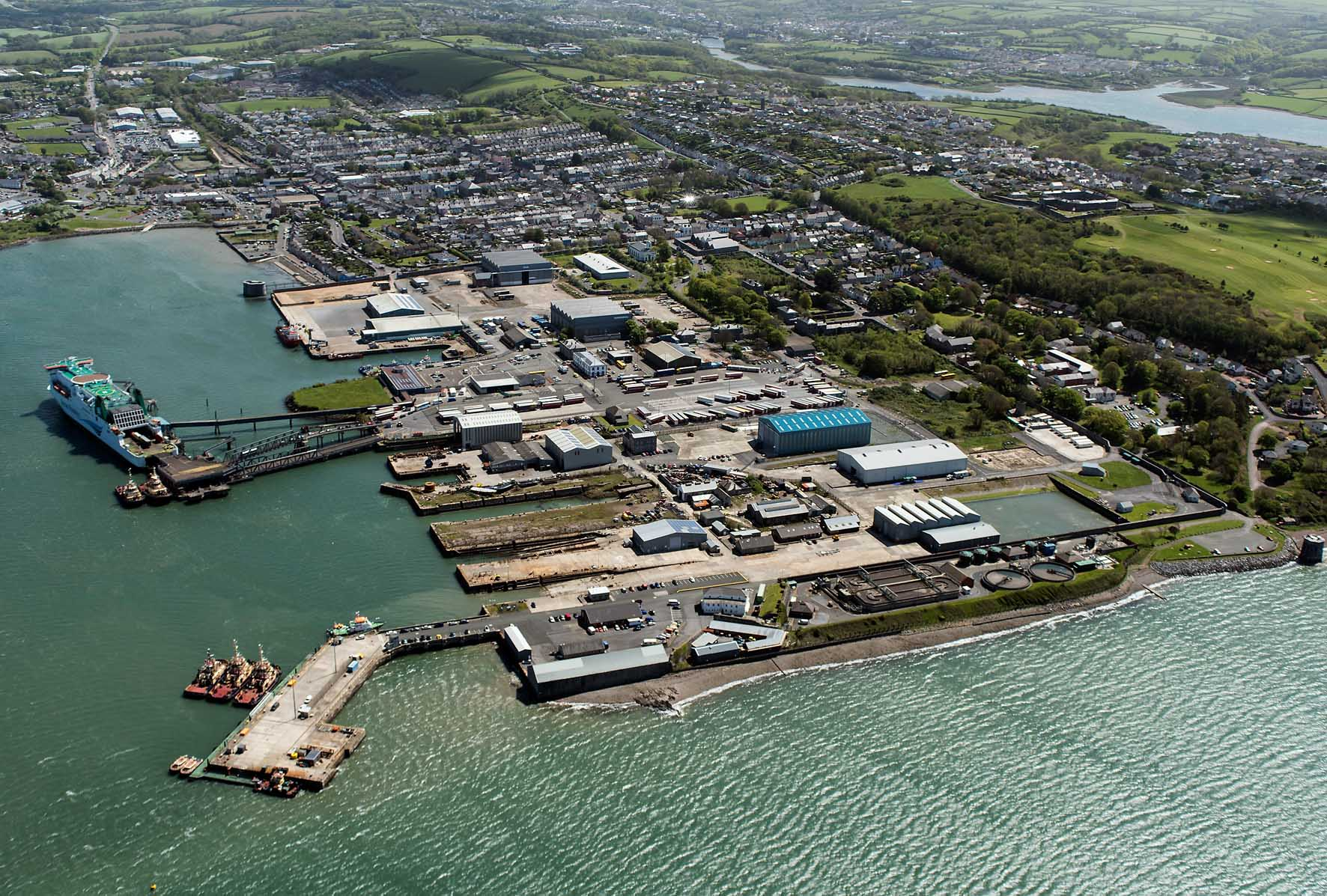 Pembroke Dock To Start 163 76 Million Marine Renewable Energy