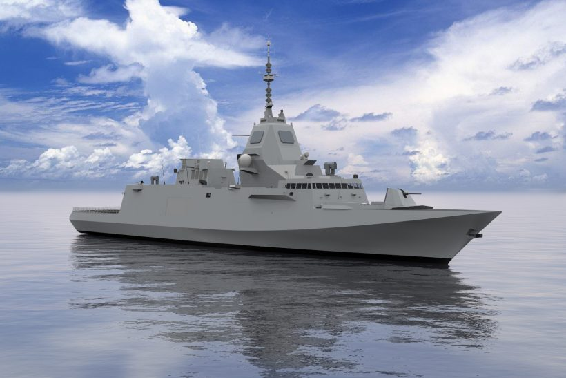Joint proposal to Canada based on FREMM frigate design