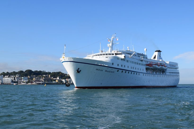 Cowes Harbour Commission promotes cruise calls to the Isle of Wight