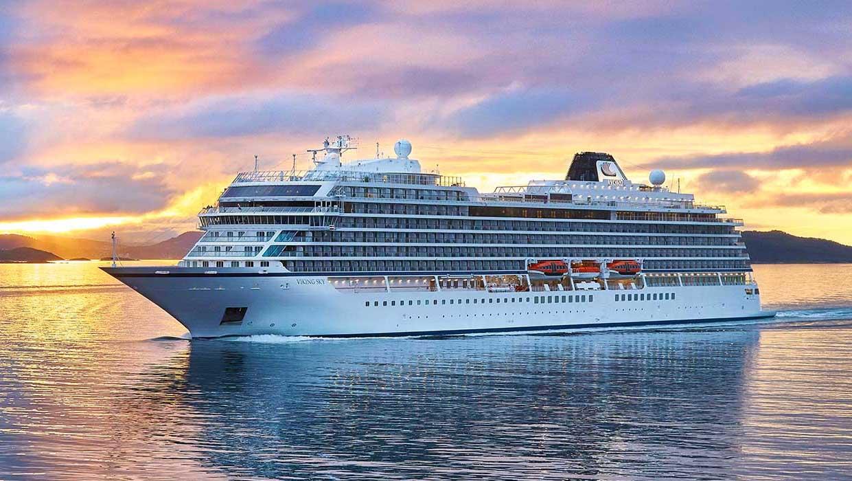 Viking Ocean Cruises Round The World Cruise Ships Monthly