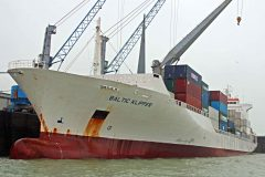 First Geest Line vessel arrives at the Port of Dover