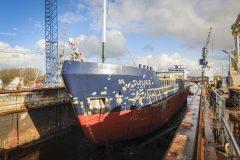 Cement Carrier Lelie C returns to Damen Shiprepair