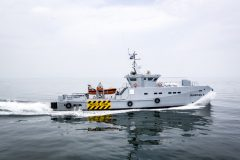 Fourth Damen 3307 Patrol Vessel delivered to  Lagos