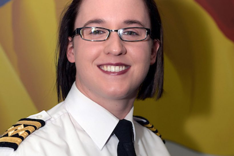Jenny Evans becomes the second female to captain a P&O Ferries ship