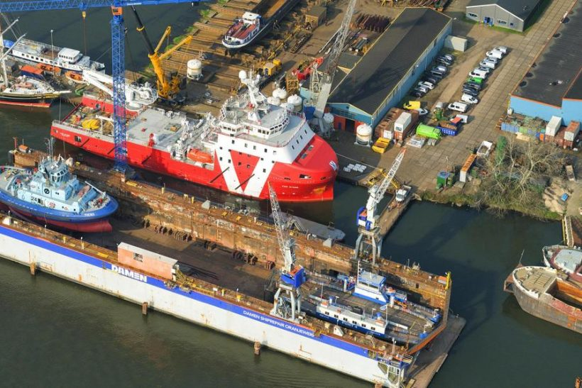 Second Vroon W2W vessel completes modifications at Damen
