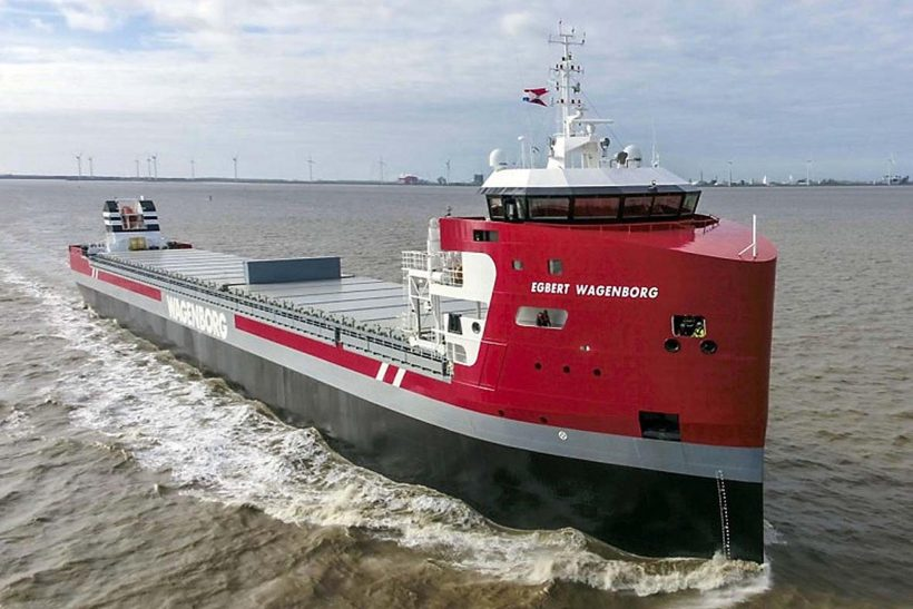 Wagenborg introduces EasyMax ships