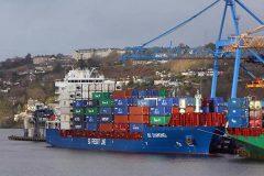 BG Diamond makes her maiden call to Port of Cork