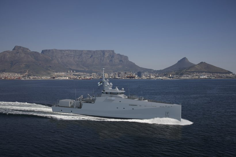 South African Department of Defence orders three Inshore Patrol Vessels
