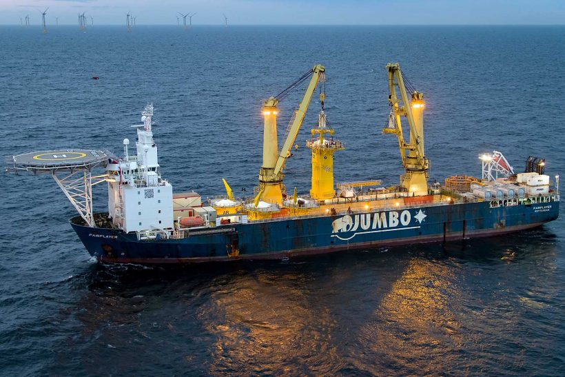 Jumbo Completes Project for the Arkona Offshore Wind Farm
