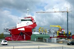 IHC completes two dredgers for India
