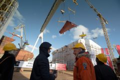 Lindblad Expeditions celebrates keel laying of first polar newbuild National Geographic Endurance