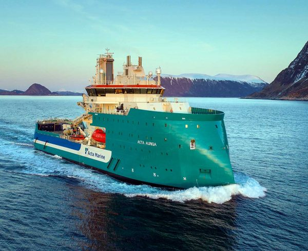 Early delivery of Acta Auriga from Ulstein Verft