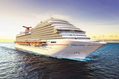 New cruise ship Carnival Horizon delivered