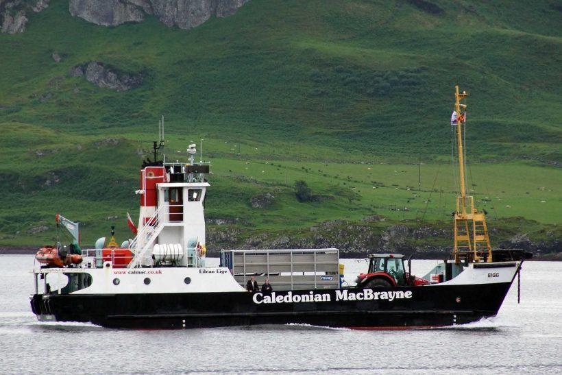 End of an era as Cal Mac retire last 'Island' class Eigg