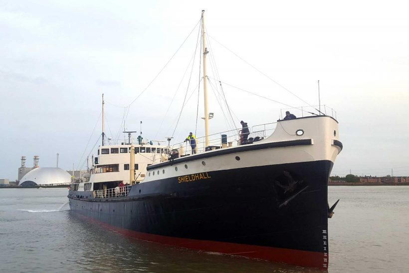 Shieldhall returns to Southampton ahead of new season sailings