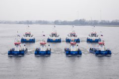 Damen delivers 19-vessel order to Combi Lift