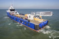 First Damen Fast Crew Supplier with  motion-compensated gangway system