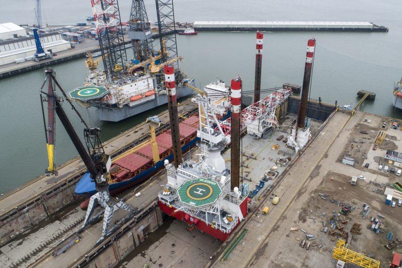 MPI Enterprise refitted at Damen Verolme Rotterdam