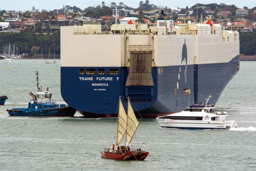 Auckland has cargo schedule issues
