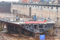 Stena Line's New Belfast-Bound Ship Taking Shape in China