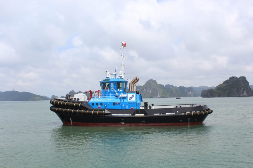 Damen delivers two of four ASD 3212 tugs to Smit Lamnalco