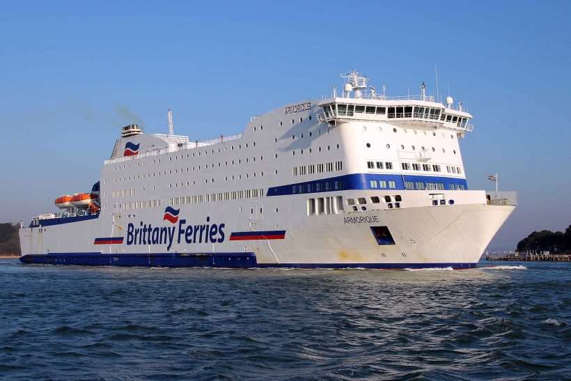 Armoqique to cover refits for Brittany Ferries
