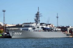 Japanese warships visit Finland for Finnish Forces Centenary