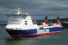 Stena Forerunner comes to Belfast