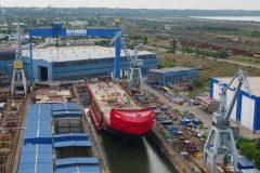 Damen performs float-out of Australian icebreaker