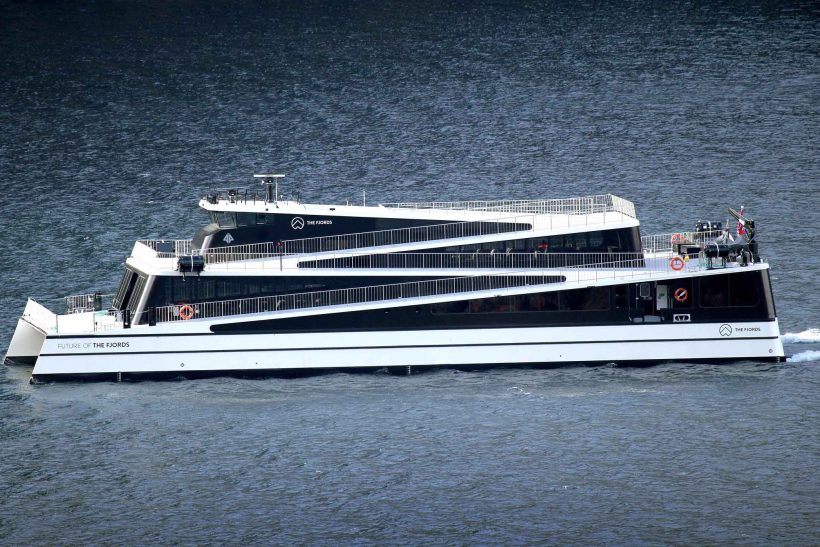 Ship of the Year title given to Future of The Fjords