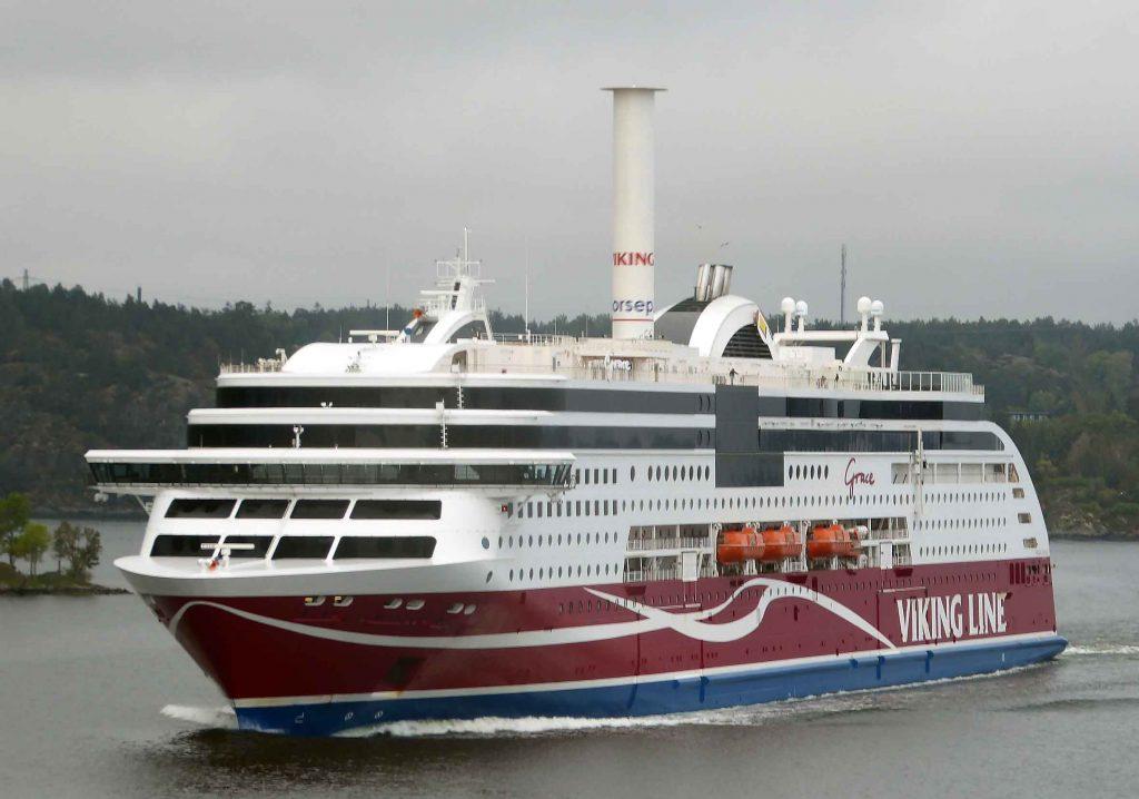 Viking Line Laivasta Poistuminen